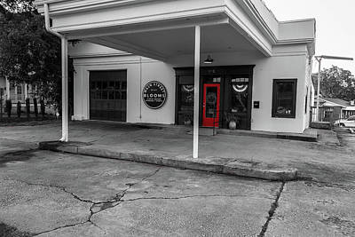 Photograph - Flower Shop In Selective Color by Doug Camara