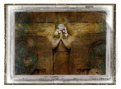 Photograph - Flower Spes Angel by Craig J Satterlee