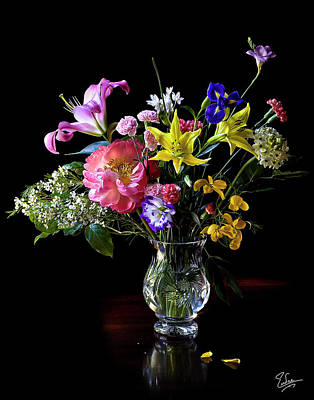 Photograph - Flower Still Life by Endre Balogh