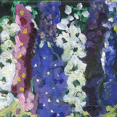 Painting - Flower Stock by Kathleen Barnes