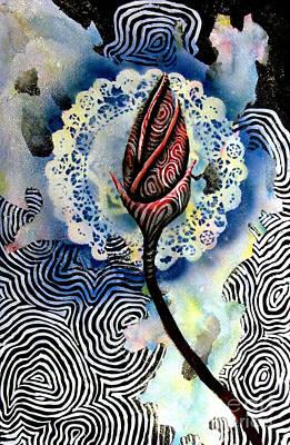 Flower Study 1 Art Print by Luke Galutia