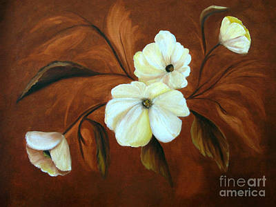 Painting - Flower Study by Carol Sweetwood