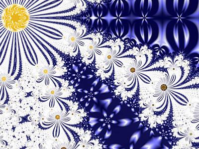 Digital Art - Flower Sunshine by Barbara Burns