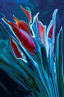 Flower Unknown 2 Art Print by Rabi Khan