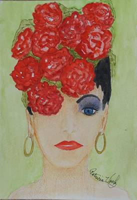 Painting - Flower Vase by Patricia Voelz