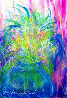 Flower Vase. Art Print