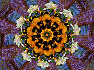 Digital Art - Flower Windmill by Max DeBeeson