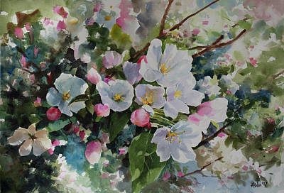 Painting - Flower_12 by Helal Uddin