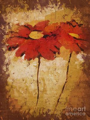 Flowerdraft Art Print