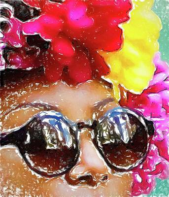 Photograph - Flowered Sunglasses by Alice Gipson