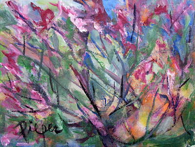 Painting - Flowering by Betty Pieper