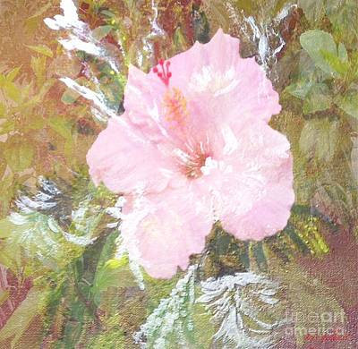 Painting - Flowering Fireworks by Iris Gelbart