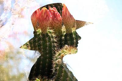 Photograph - Flowering Hat by Greg Wickenburg