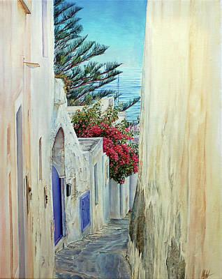 Painting - Flowering Lane  by Michel Angelo Rossi