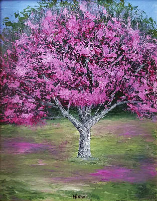 Painting - Flowering Tree by Mishel Vanderten
