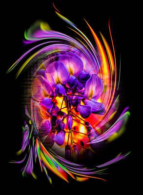 Anne Geddes - Flowermagic 3 by Walter Zettl