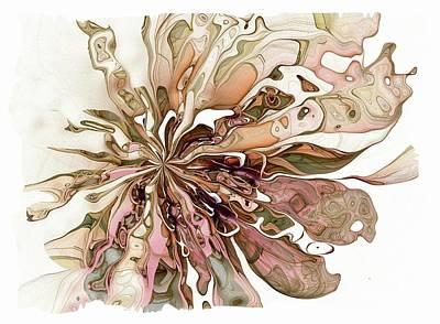Framed Art Digital Art - Flowers 004 by Amanda Moore