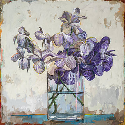 Painting - Flowers #1 by David Palmer