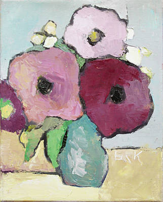 Painting - Flowers 1601 by Becky Kim