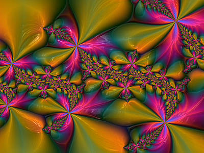 Digital Art - Flowers 2 by Alexandru Bucovineanu