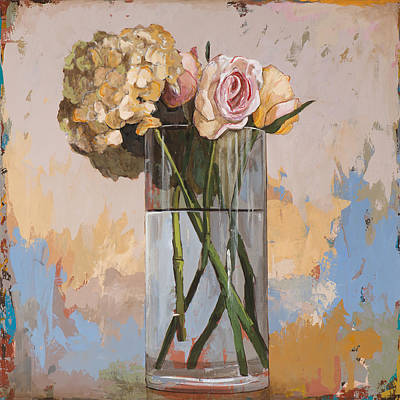 Painting - Flowers #2 by David Palmer