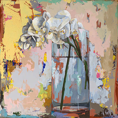 Floral Still Life Painting - Flowers #3 by David Palmer