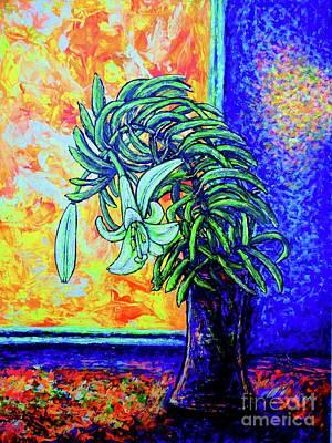 Painting - Flowers 3 by Viktor Lazarev