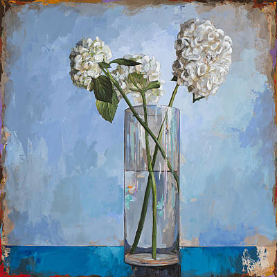 Floral Still Life Painting - Flowers #5 by David Palmer