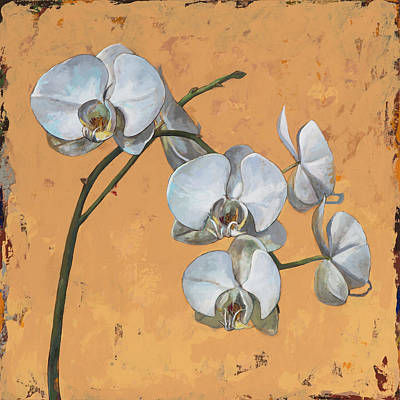Orchid Wall Art - Painting - Flowers #8 by David Palmer