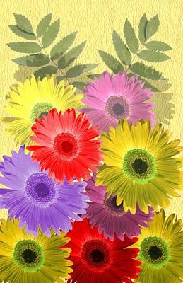 Digital Art - Flowers by Amar Singha