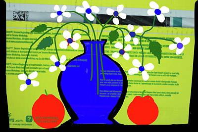 Digital Art - Flowers And Vase by Anand Swaroop Manchiraju