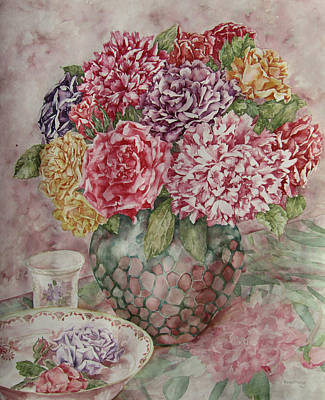 Flowers Arrangement  Art Print