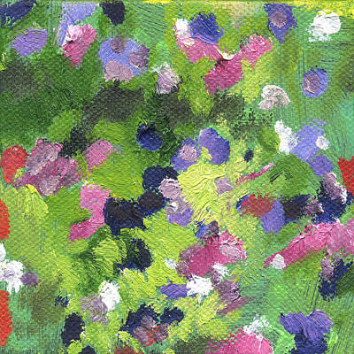 Painting - Flowers Aster 1 by Kathleen Barnes