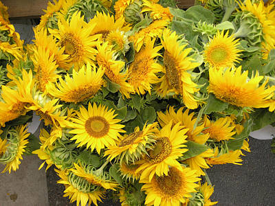 Farmers Market Photograph - Flowers At The Market 4 by Janis Beauchamp