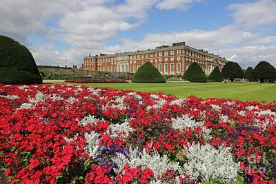 Photograph - Flowers At Hampton Court Palace by Julia Gavin