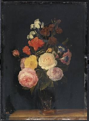 Viejo Painting - Flowers by Brueghel