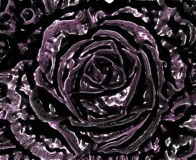 Digital Art - Flowers By Artful Oasis 2 by Artful Oasis