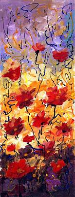 Painting - Flowers Composition by Samiran Sarkar