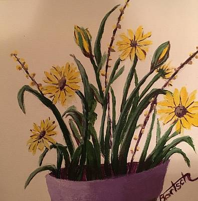 Painting - Flowers by David Bartsch