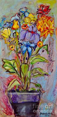 Painting - Flowers by Deborah Nell