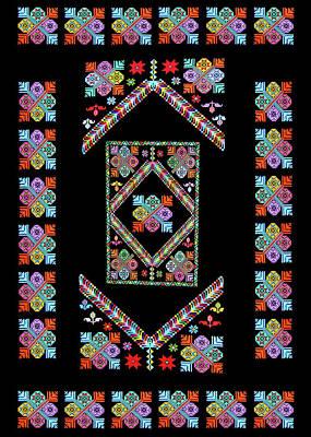 Photograph - Flowers Design by Munir Alawi