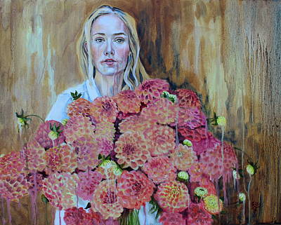 Painting - Flowers Didn't Fill Her by Kirsten Beitler