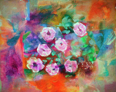 Digital Art - Flowers by Don Wright