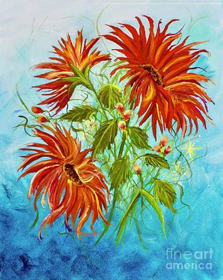 Painting - Flowers Dream by Mary Scott