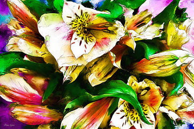 Photograph - Flowers Expression by Anna Louise