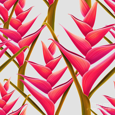 Banana Digital Art - Flowers Fantasia   by Mark Ashkenazi