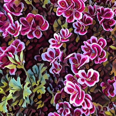 Digital Art - Flowers by Ferran Serra