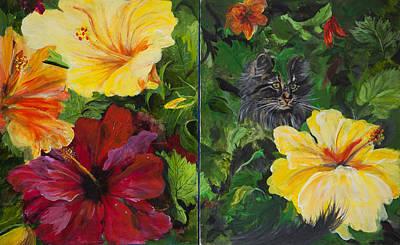 Painting - Flowers For Elizabeth by Sierra Logan