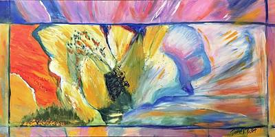 Painting - Flowers For Love  by Dottie Phelps Visker