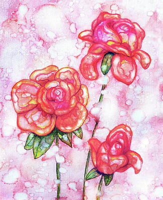 Painting - Flowers For Mom by Jennifer Allison